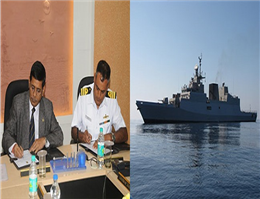 آغاز به کار اولین ضد زیردریایی هندی