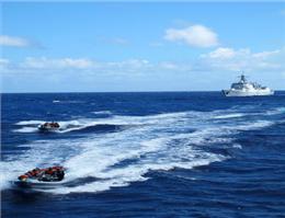 رزمایش هند آمریكا و ژاپن در اقیانوسآرام