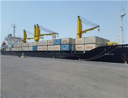 حرکت اولین کشتی محموله گندم اهدایی دولت هند به مردم افغانستان از سوی کشتیرانی جمهوری اسلامی ایران به چابهار