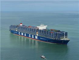 سود کشتیرانی CAM CGM فرانسه کاهش یافت
