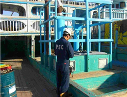 انجام بازرسی متمرکز از شناورهای سنتی تحت پرچم