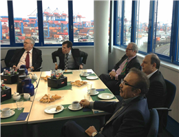 IRISL MD Visited Hamburg Port