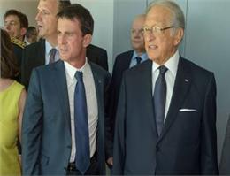 نخست وزیر فرانسه از کشتیرانی CMA CGM بازدید کرد