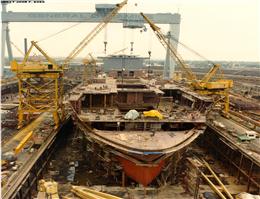رشد سفارشات ساخت کشتی در جهان/چین در صدر