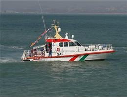 نجات سه سرنشین قایق صیادی در هرمزگان