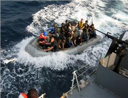 کاهش هزینهها به دنبال کاهش حملات دزدان دریایی
