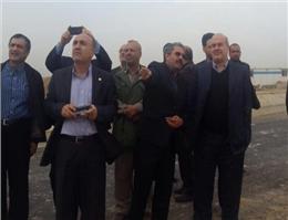 بازدید معاون رئیس جمهور از چند کانون ریزگرد در خوزستان