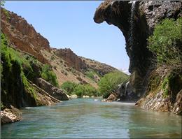 لزوم لایروبی رودخانه بمپور ایرانشهر