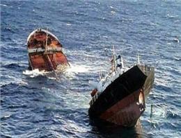 برخورد دو کشتی در دریای جنوبی چین