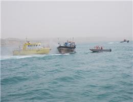 توقیف محموله قاچاق در آبهای خلیج فارس