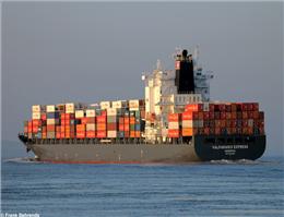 ترانزیت بزرگترین شناور کانتینری از کانال پاناما