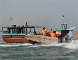 دو شناور در آبهای خوزستان توقیف شد