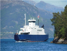 Ferry Goes Aground