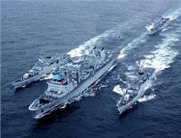 ورود شناورهای نیروی دریایی چین به هند