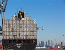 Cargo Volumes Down at Port of Rotterdam
