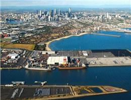 ساخت ترمینال بندری جدید در استرالیا