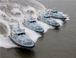 Nigeria Takes Delivery of Four Patrol Vessels