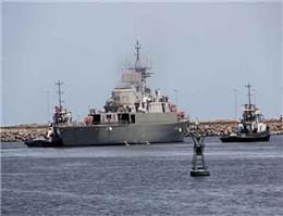 جماران ۲ برای آزمایش دریایی عازم دریای خزر شد