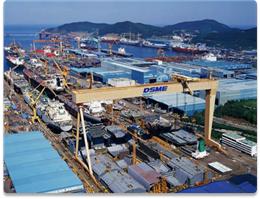 عمان و کره کشتی های LNG تعمیر می کنند