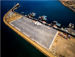 Shahid Kalantari Port's Container Terminal Starts Operating