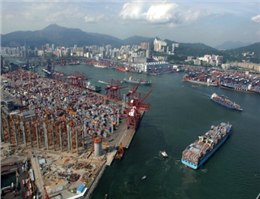 Hong Kong port Container Volumes up 13% in May