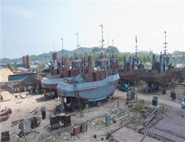 ساخت یارد جدید کشتی سازی در اندونزی