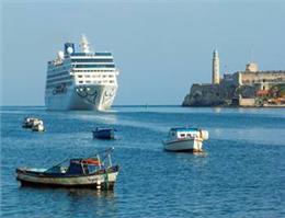 ورود کشتی کروز آمریکا به کوبا تاریخی شد