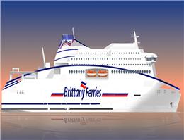 فرانسه شناور مسافربری با سوخت LNG سفارش داد