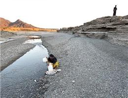 افزایش خشکسالی با کاهش آب رودخانه سیستان