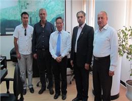 حضور نماینده کشتیرانی COSCO در بندر شهید رجایی