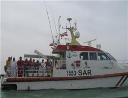 نجات 124 دریانورد طی سه ماه اخیر از سوی سازمان بنادر