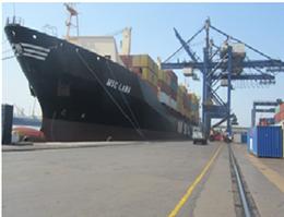 کشتیرانی MSC در ترمینال کانتینری پاکستان پهلو گرفت