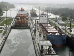 كاهش حجم حمل و نقل كانتینری از كانال پاناما