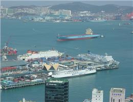 تاثیر منفی ائتلاف کشتیرانی ها در بزرگترین بندر کره