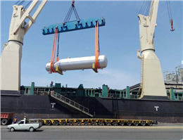 Project Cargo Transport to Set out at IRISL