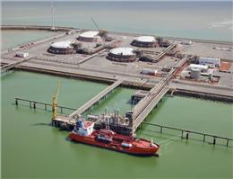 مشارکت پنج بندر اروپایی در LNG