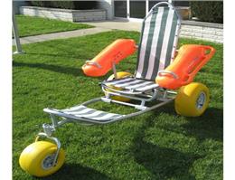 ویلچر مخصوص شنای معلولان ساخته شد