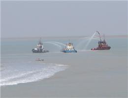 گزارش تصویری مانور مدیریت بحران و مقابله با شرایط اضطرار دریایی