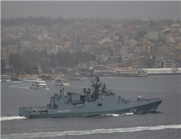 Russian frigate Heads to Mediterranean on Syria Mission