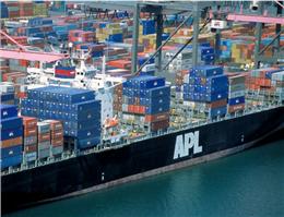 کشتیرانیAPL سنگاپور به مسیر سوددهی بازگشت