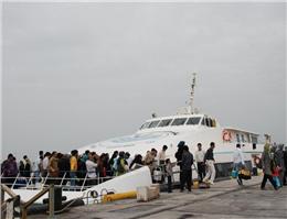 سفرهای دریایی در استان بوشهر 12درصد افزایش یافت