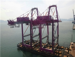 Incheon port adds two quay cranes