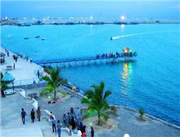 سفر دو روزه کوله گردان در نوار ساحلی دریای عمان