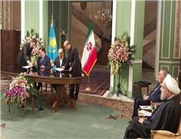 امضاء تفاهم نامه همکاری میان کشتیرانی ایران و قزاقستان