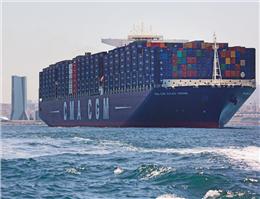 سومین کشتیرانی کانتینری جهان، کشتی تحویل گرفت