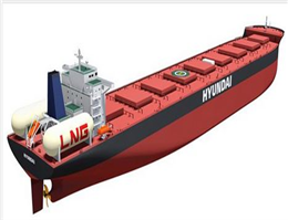 World's Largest LNG-Fuelled Ship about to Enter the Market