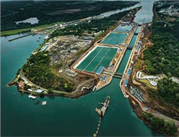 Containership  and tankers have dominated Panama Canal