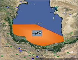 پایش هوایی منطقه دریایی ایران در خزر انجام شد