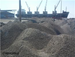 توقف صادرات سیمان از مرزدریایی خرمشهر