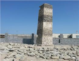 برج هشدار دهنده دریایی در بندر جاسک مرمت می شود